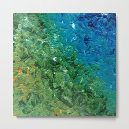 Transition, Abstract Acrylic Metal Print
