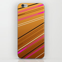 Soft Brown iPhone Skin