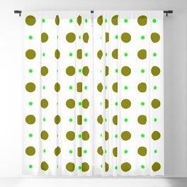 new polka dot 88 green Blackout Curtain