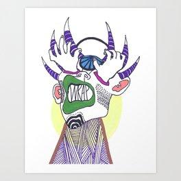 Prismatic Perspectives: Wrap Art Print