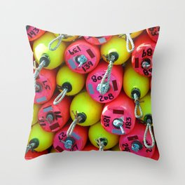 Floats By The Sea Throw Pillow