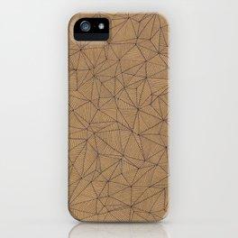 Geometry is like, hard. iPhone Case