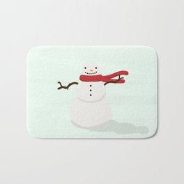 Snowman Bath Mat