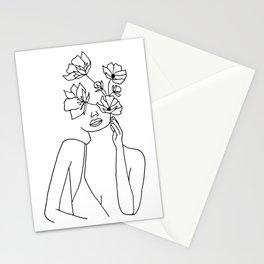 Beautiful mindset Stationery Cards