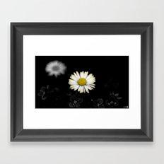 Vintage Flower Framed Art Print