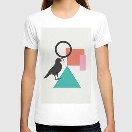 constructivist bird T-shirt