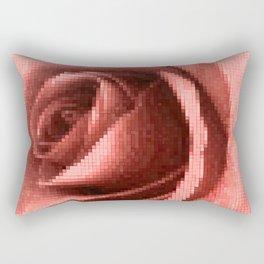 Rosy mosaic Rectangular Pillow