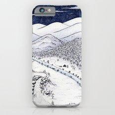 Snowy Night in Japan Slim Case iPhone 6s