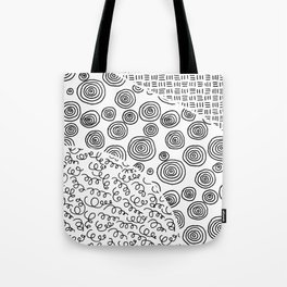 Das Handy Collage Tote Bag