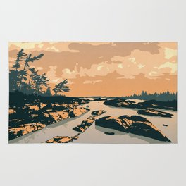 The Massasauga Park Poster Rug