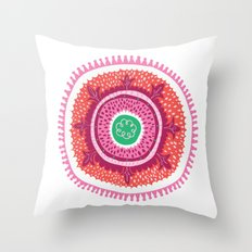 Suzani I Throw Pillow