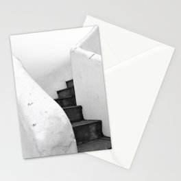 Black and White Stairs Stationery Cards