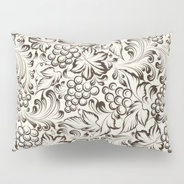 Vine seamless background Pillow Sham