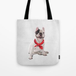 Frenchie (Wordless) Tote Bag
