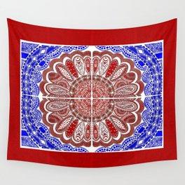 RWB Bandanna Wall Tapestry