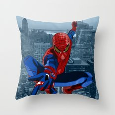Amazing Spider-Man (Film Title) Throw Pillow
