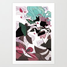 The Waves and The Wind Art Print