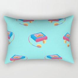 Back To The 90's Rectangular Pillow