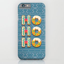 Not Today Santa iPhone Case