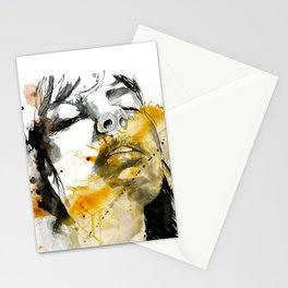 splash portraits Stationery Cards