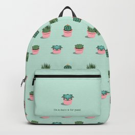 I'm a Succ-a for Puns Backpack