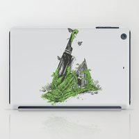 silent iPad Cases featuring Silent Decay by Hillary White