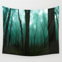 Scary Forest Wall Tapestry