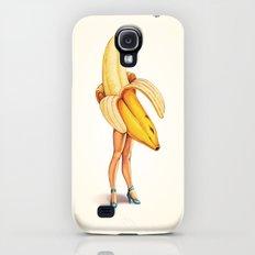 Banana Girl Galaxy S4 Slim Case