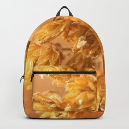 Dried last autumn flowers Backpack