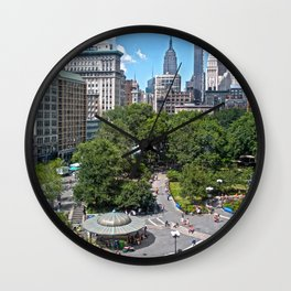 Union Square, NYC Wall Clock