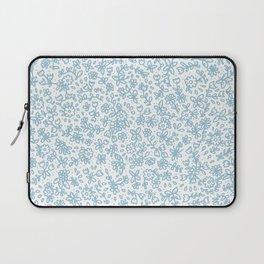 Blue little flowers Laptop Sleeve