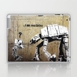 Banksy, I am your father Laptop & iPad Skin