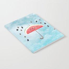 Melon - Fruity Summer Rain Notebook