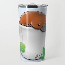 Pla-TEA-pus Travel Mug