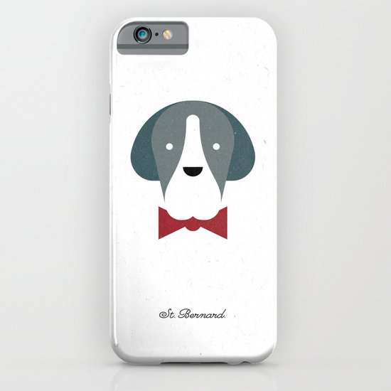 Pedigree: St. Bernard iPhone & iPod Case