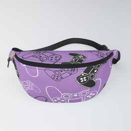 Video Games Lavender Fanny Pack