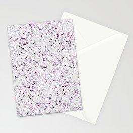 Purple Droplets #2259 Stationery Cards