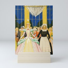 Real Princess By Rudolf Koivu Mini Art Print