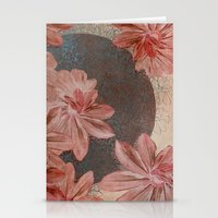 leah flores Stationery Cards featuring Flores by MACACOSS