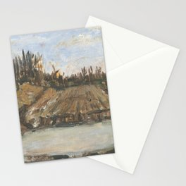 Sunset in Ada Stationery Cards