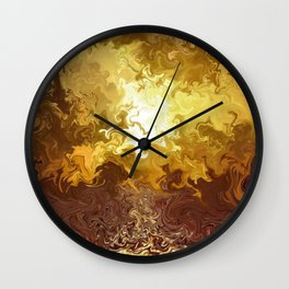 Reflection of Desire Wall Clock