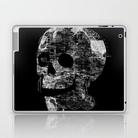 Skull Wanderlust Laptop & iPad Skin
