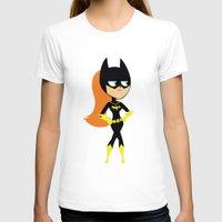 batgirl T-shirts featuring Batgirl by Adrian Mentus