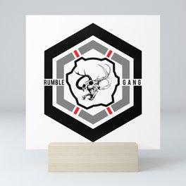 Rumble Gang HEXAGON Mini Art Print