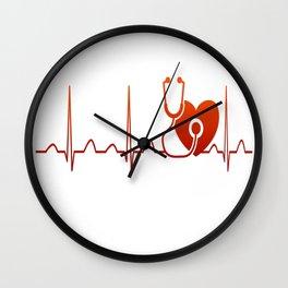 DOCTOR HEARTBEAT Wall Clock