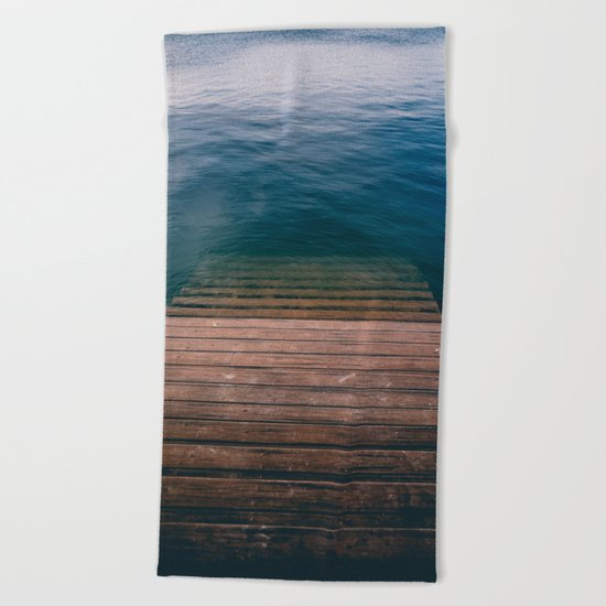 The invite Beach Towel