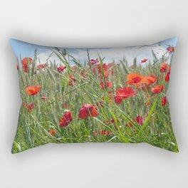 Coquelicots Rectangular Pillow