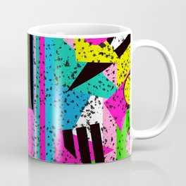 80's Shape Splatter Coffee Mug