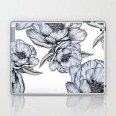floating flowers Laptop & iPad Skin