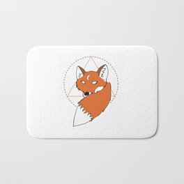 REGINALD THE FOX Bath Mat